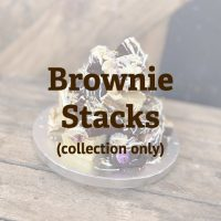 Image of brownie stack, click to place an order.