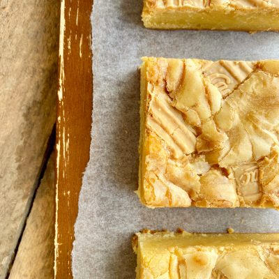 Caramel Caramac Blondie part of Father's Day Brownie Gift Box